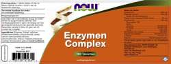 NOW Foods Enzymen Complex 180 Tabletten