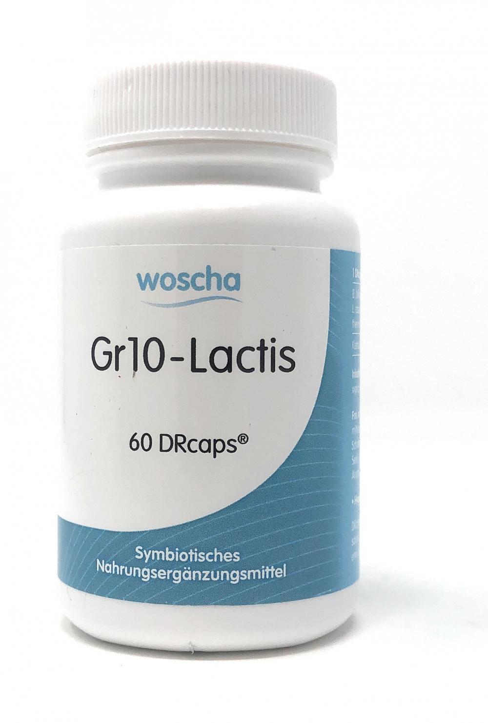 woscha GR10-Lactis 60 DRcaps (32g)(vegan)