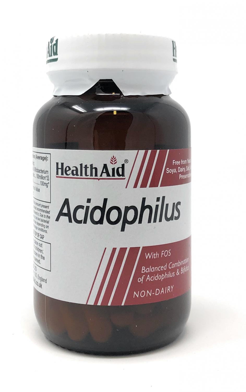 HealthAid Acidophilus (with FOS) 60 veg. Kapseln (vegan)