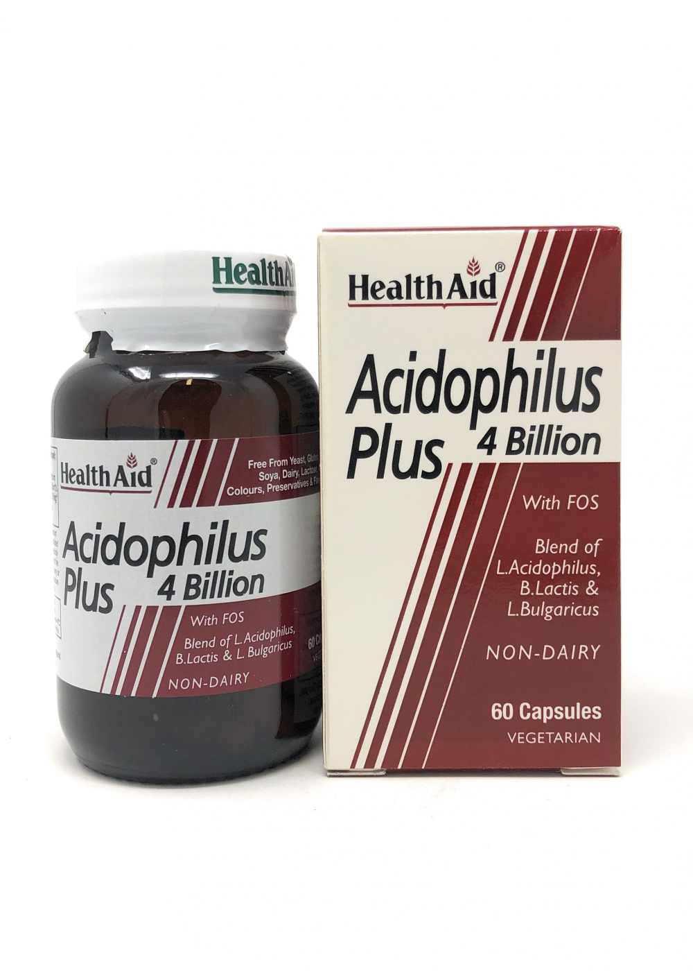 HealthAid Acidophilus Plus 4 Billion 60 veg. Kapseln (vegan)