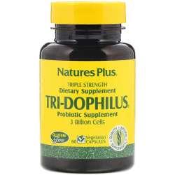 Natures Plus Tri-Dophilus® 60 veg. Kapseln (44,2g)