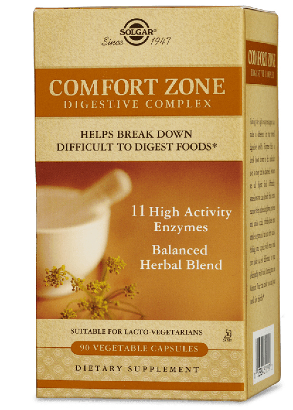 Solgar Comfort Zone Digestive Complex 90 veg. Kapseln