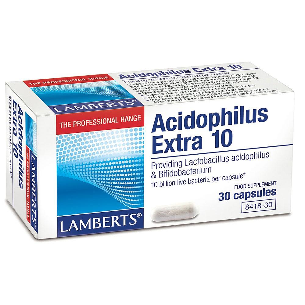 Lamberts Healthcare Ltd. Acidophilus Extra 10 30 veg. Kapseln