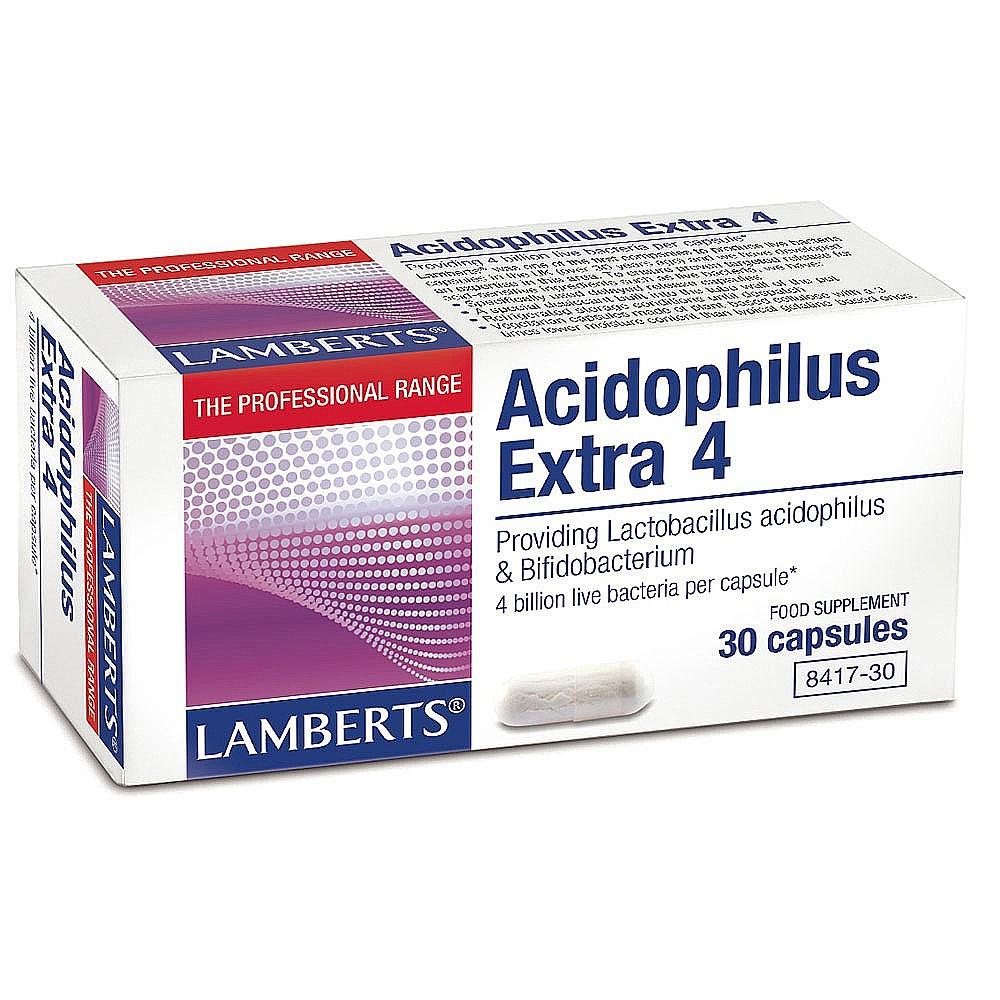 Lamberts Acidophilus Extra 4 30 veg. Kapseln