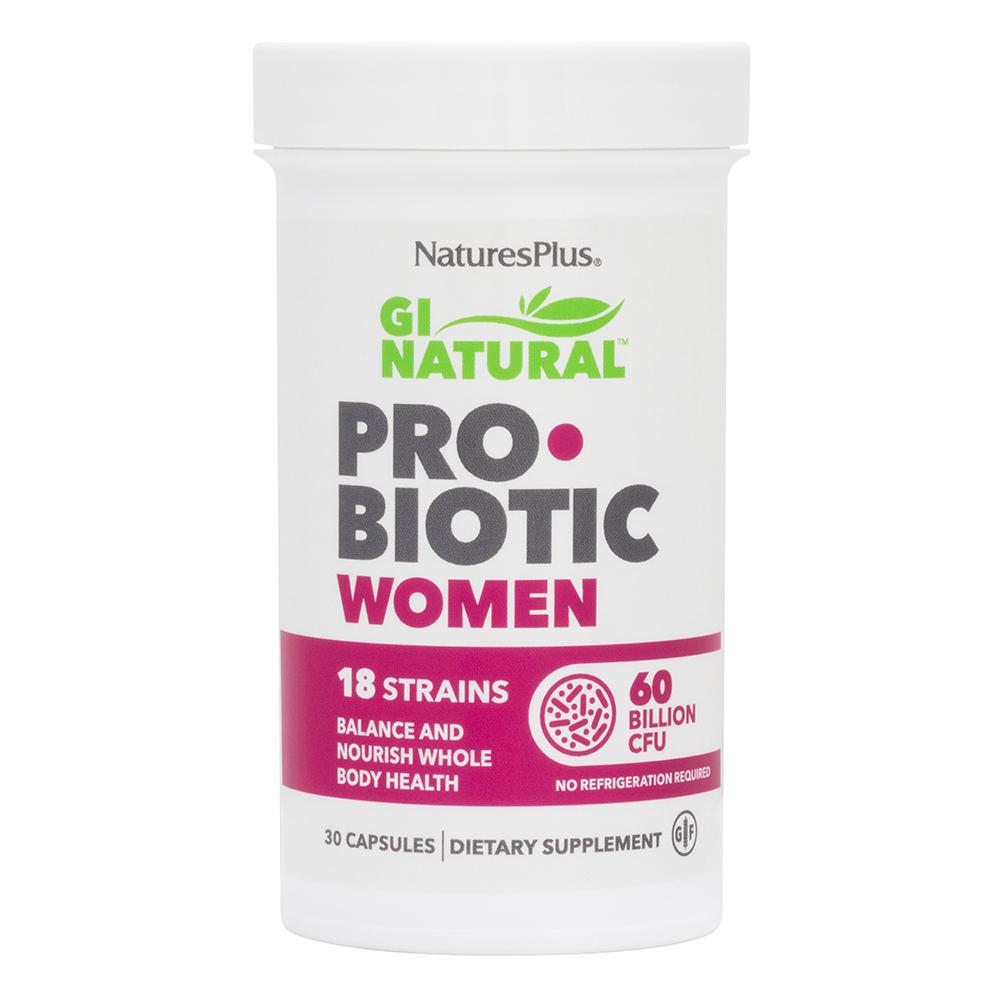 Natures Plus GI Natural Pro•Biotic Women (speziell für Frauen) 30 veg. Kapseln