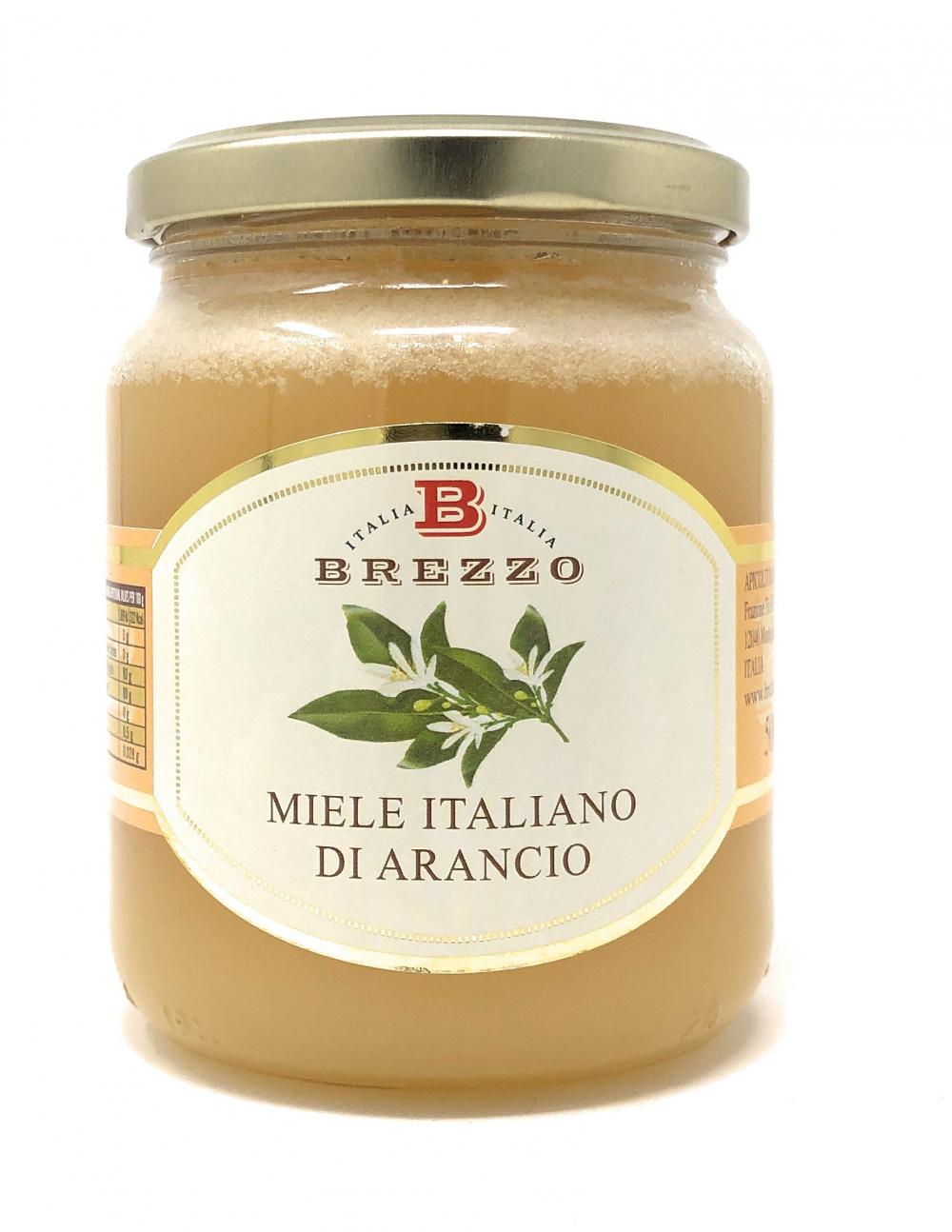 Apicoltura Brezzo Miele Italiano de Arancio Orangenblütenhonig 500g Glas