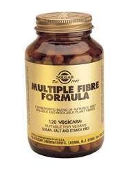 Solgar Multiple Fibre Formula (Ballaststoffe) 120 veg. Kapseln (vegan)