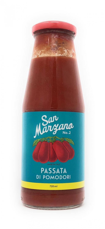 Il pomodoro più buono Passata di pomodoro di San Marzano Vintage 720ml Flasche (vegan)