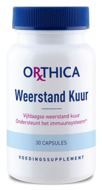 Orthica Weerstand Kuur (Abwehrkur) 30 veg. Kapseln