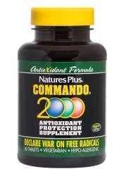 Natures Plus Commando 2000 60 Tabletten (93g)