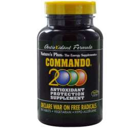 Natures Plus Commando 2000 90 Tabletten (136g)