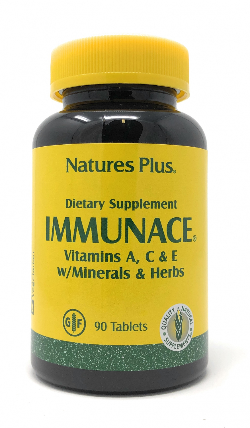 Natures Plus ImmunACE® A, C, E w/ Minerals & Herbs 90 Tabletten (183,2g)
