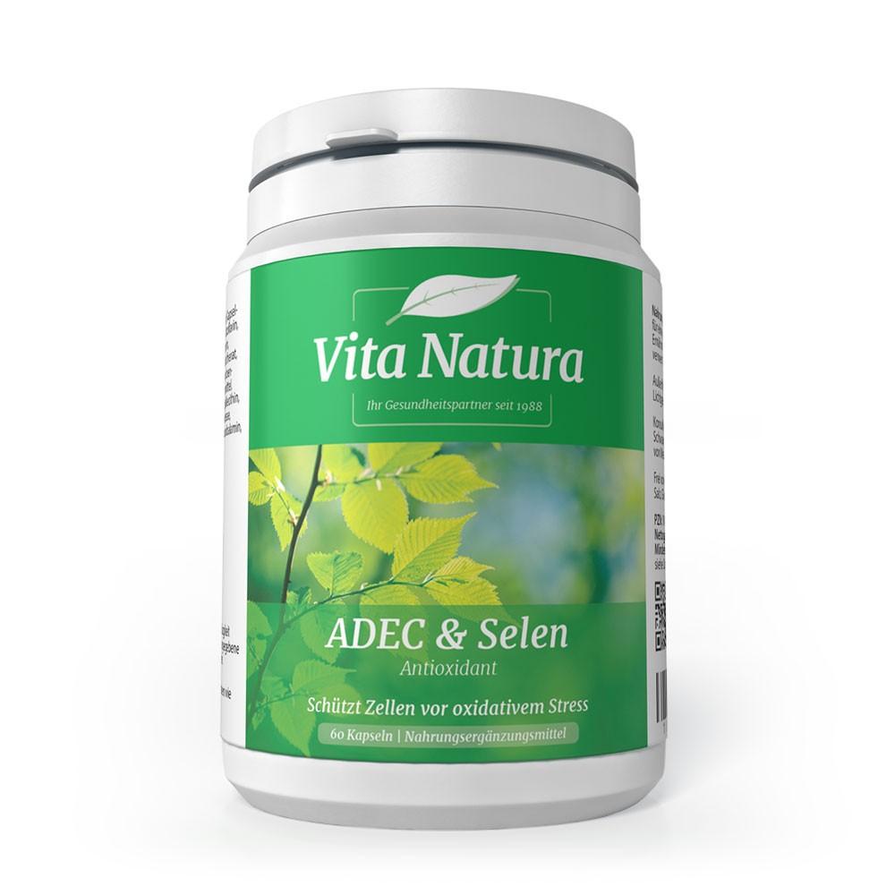 Vita Natura ADEC & Selen 60 veg. Kapseln (32,7g)