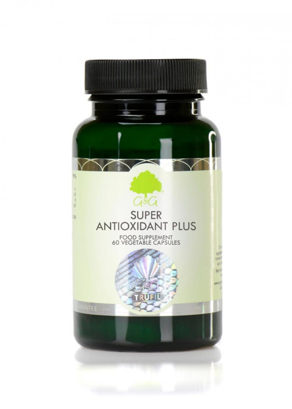 G&G Vitamins Super Antioxidant Plus 60 veg. Kapseln 832,4g)(vegan)