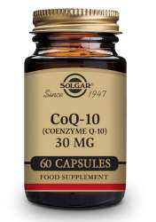 Solgar CoQ-10 (Ubichinon) 30mg 60 veg. Kapseln (vegan)