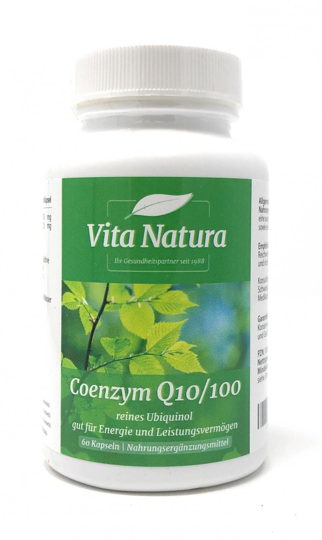 Vita Natura CoEnzym Q10 100mg 60 Stück