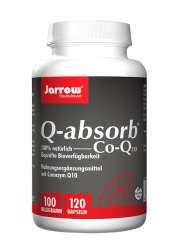 Jarrow Formulas Q-absorb® Coenzym Q10 100mg 120 Softgels