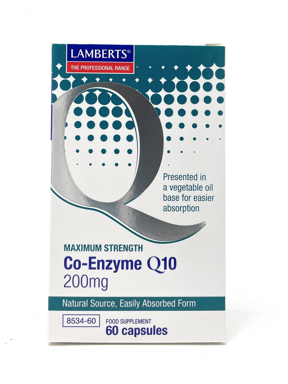 Lamberts Healthcare Ltd. Co-Enzyme Q10 200 mg 60 veg. Kapseln (vegan)