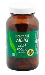 HealthAid Alfalfa Leaf 700mg equivalent 120 Tabletten (vegan)