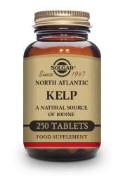 Solgar North Atlantic Kelp Tablets 250 Tabletten (vegan)
