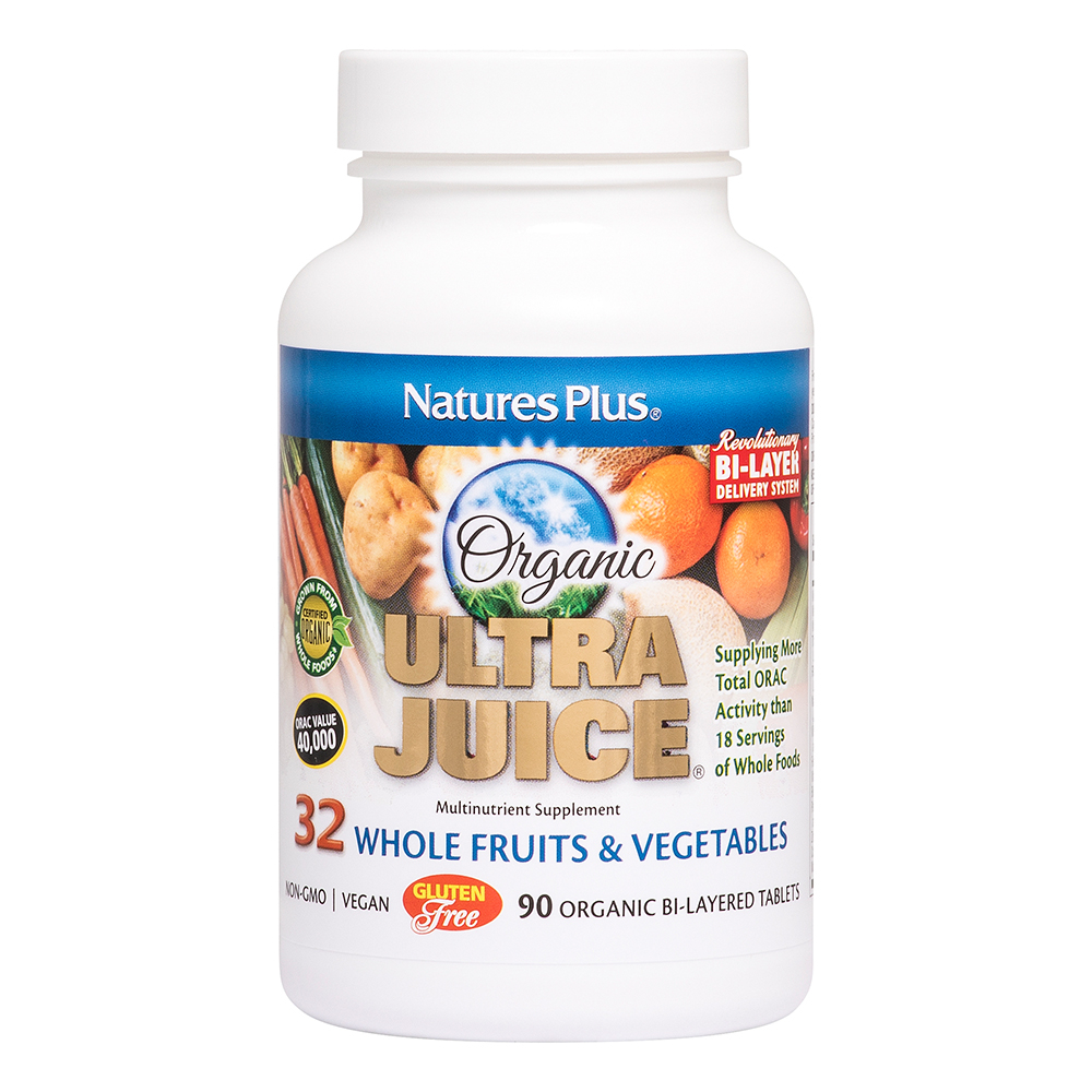 Natures Plus Ultra Juice® 90 Zweischicht-Tabletten