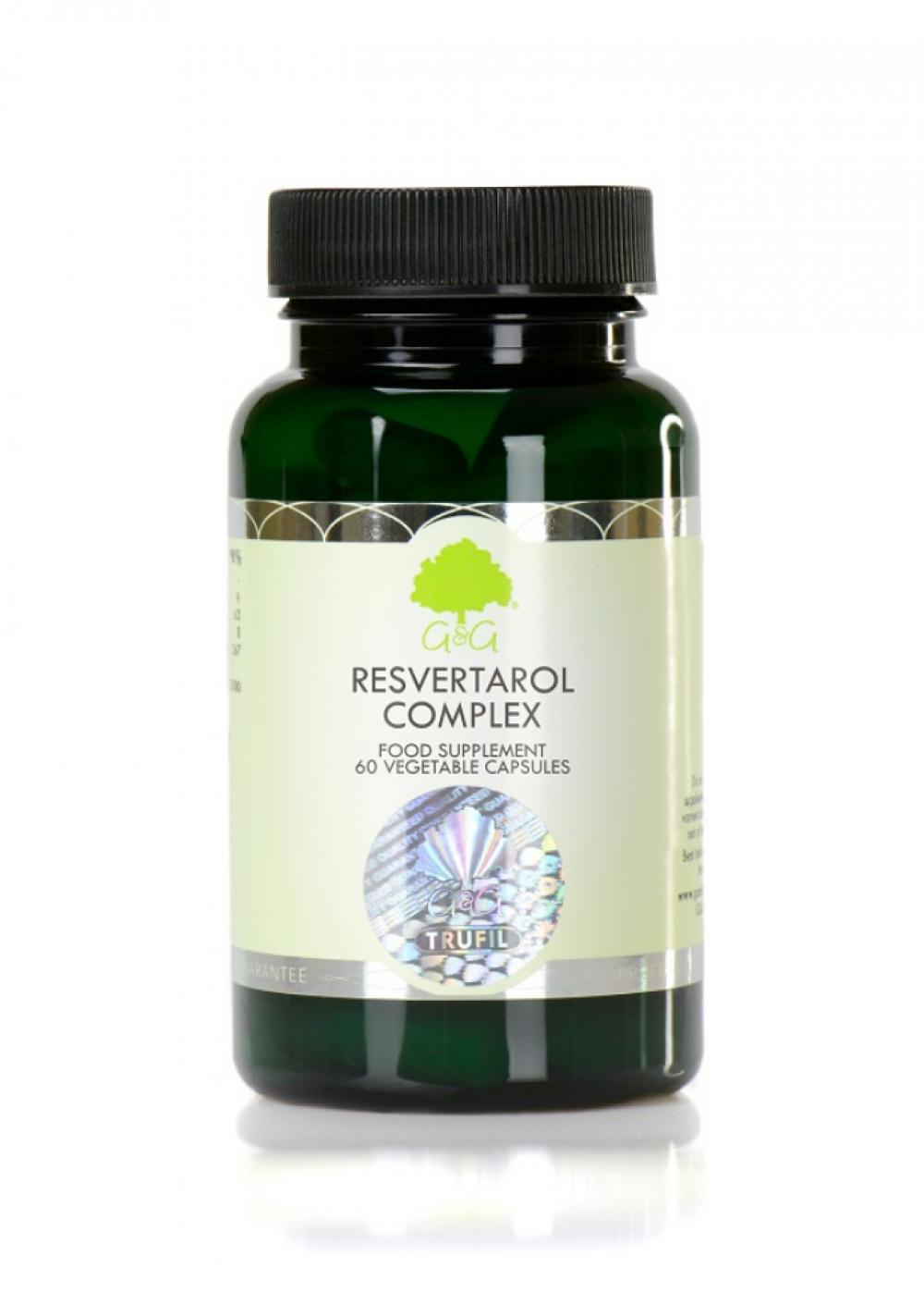 G&G Vitamins Resveratrol Complex 60veg. Kapseln (49,9g) (vegan)