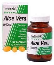 Health Aid Aloe Vera 5000mg 60 Kapseln