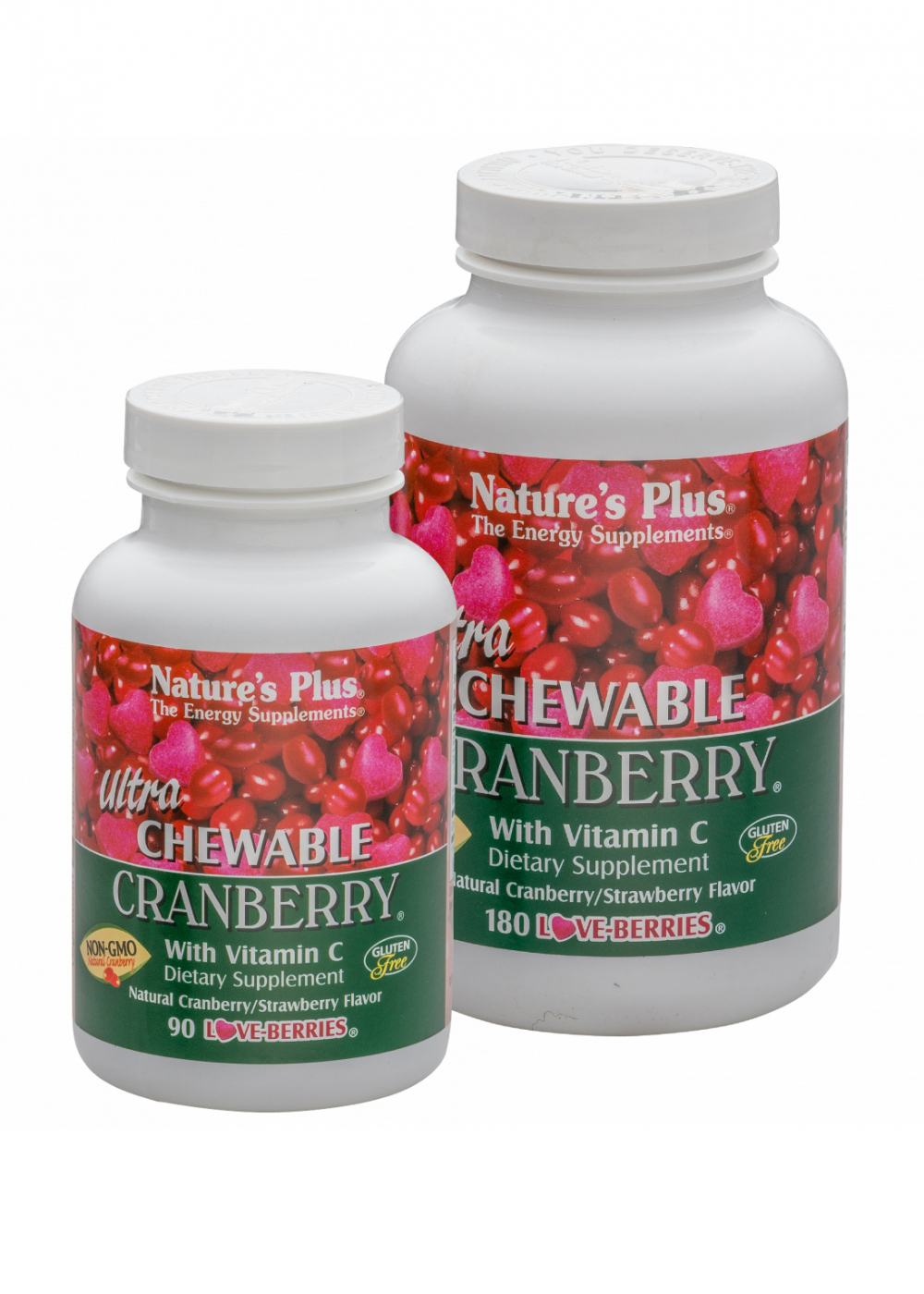 Natures Plus Ultra Chewable Cranberry® 180 Kautabletten