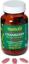 Health Aid Cranberry 5000mg 60 Tabletten