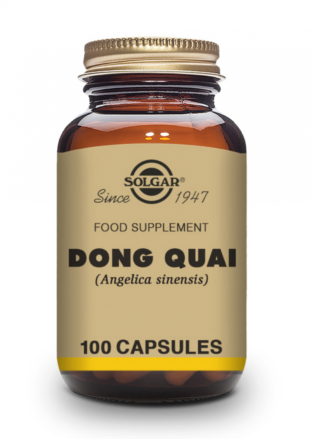 Solgar Dong Quai Root Extract (Engelwurz) 100 veg. Kapseln (vegan)