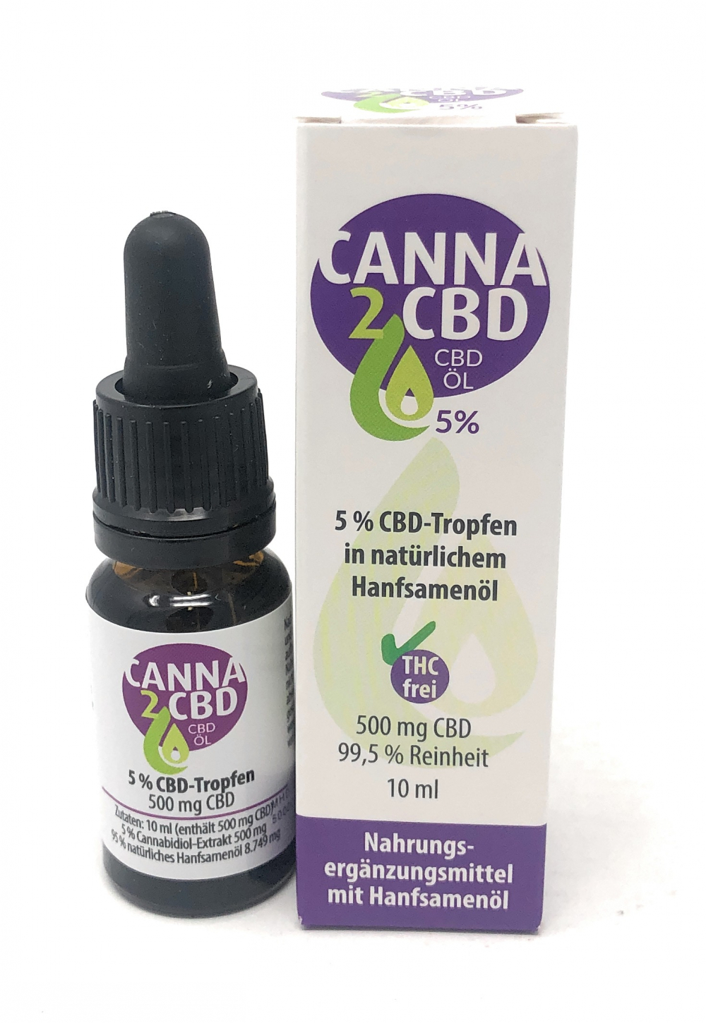 Trend2Business Canna2CBD 5% 500mg CBD 10ml Öl