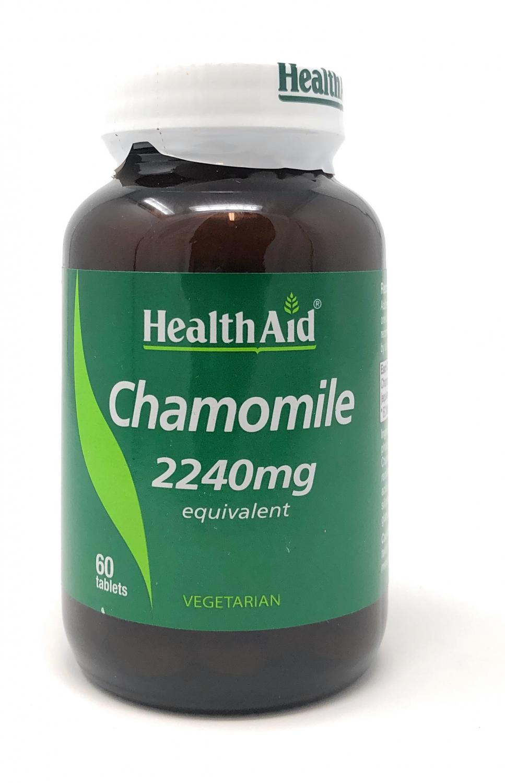 HealthAid Chamomile (Kamille) 2240mg equivalent 60 Tabletten