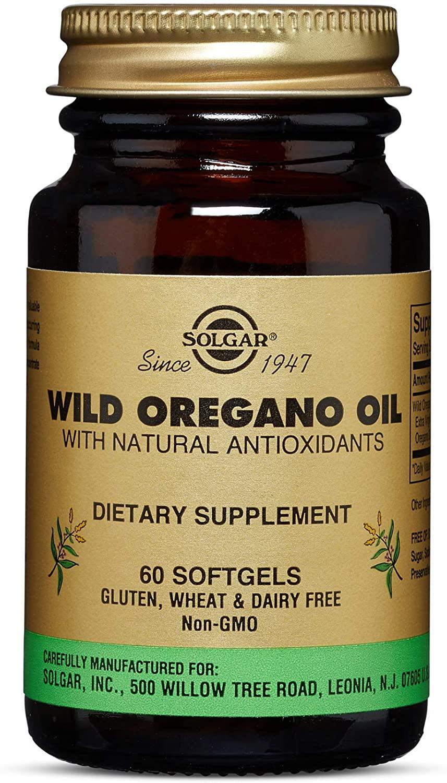 Solgar Wild Oregano Oil Softgels 60 Softgels
