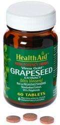 HealthAid Grapeseed Extract 100mg  (stand.) (Traubenkern Extrakt) 60 Tabletten