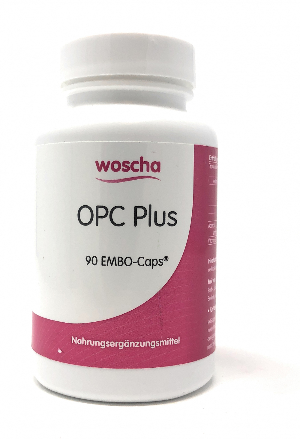 woscha OPC Plus 90 Embo-Caps (54g) (vegan)