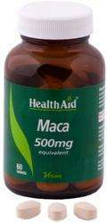 Health Aid Maca (Lepidium meyenii) 500mg equivalent 60 Tabletten (vegan)