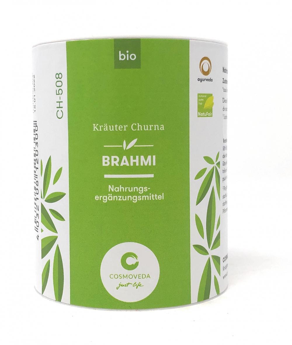 Cosmoveda BIO Brahmi Churna 100g Dose Kräuterpulver