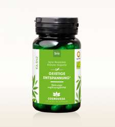 Cosmoveda BIO Ayus Rasayana Geistige Entspannung 80 Kapseln (32g) (vegan)
