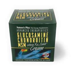 Natures Plus Glucosamine/Chondroitin/MSM Ultra Rx-Joint® Creme in der Dose 118 ml Dose (118ml)