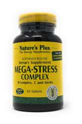 Natures Plus Mega-Stress Complex 60 Tabletten S/R (141,4g)