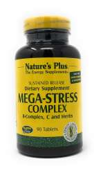 Natures Plus Mega-Stress Complex 90 Tabletten S/R (213,2g)