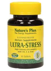 Natures Plus Ultra Stress with Iron - Sustained Release 30 Tabletten S/R