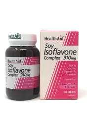 HealthAid Soy Isoflavone Complex 910mg (Soja-Isoflavone) 30 Tabletten (vegan)