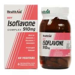 HealthAid Soy Isoflavone Complex 910mg (Soja-Isoflavone) 60 Tabletten (vegan)
