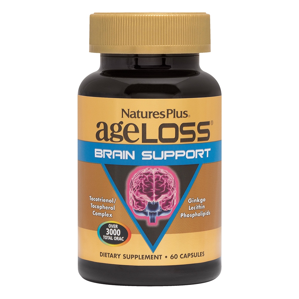 Natures Plus AgeLoss Brain Support 60 veg. Kapseln