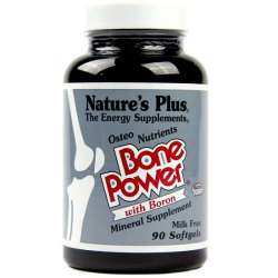 Natures Plus Bone Power Calcium with Boron 90 Softgels (200g)