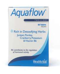 HealthAid Aquaflow® Two-A-Day 60 Tabletten (vegan)