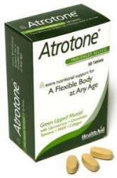 Atrotone® Blister Pack (MSM, Green Lipped Mussel, Collagen) 60 Tabl. S/R