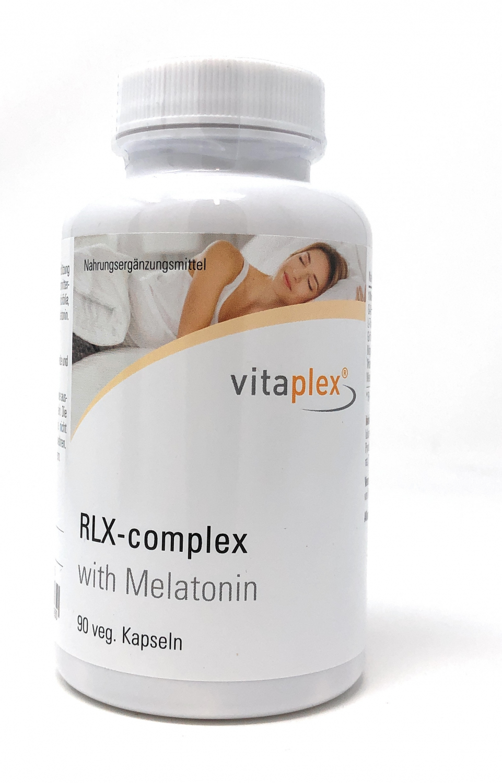 Vitaplex RLX-Complex mit Melatonin 90 veg. Kapseln