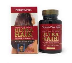 Natures Plus Ultra Hair (Haare) 60 Tabletten mit zeitverzögerter Freisetzung (132,2g)